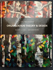 Organizational theory and design 3rd edition