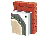 External wall insulation & rendering