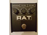 Proco Rat 2 Distortion guitar effects pedal FX pro co