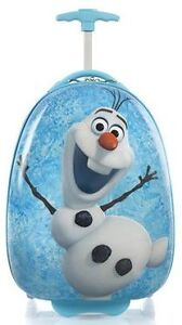 "Heys Disney Frozen Olaf 18"" Kids Luggage Suitcase BRAND NEW"