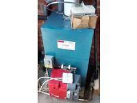 Oil Fired boilers & burners