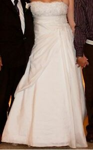 Morilee size 16 strapless wedding dress