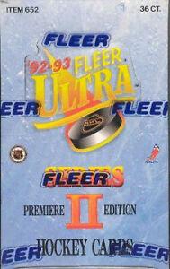 1992-93 FLEER ULTRA - SERIES 2 - hockey cards - Bill Guerin RC?