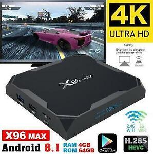 LATEST BRAND NEW ANDROID TV 8.1 4K S905X2 OCTACORE AVOV/BUZZ TV/MAG254/MAG256 $125 TO $165 IPTV KODI 17.6 TERRARIUM TV
