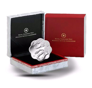 2013 YEAR of the SNAKE SILVER COIN - MINT CONDITION!!!