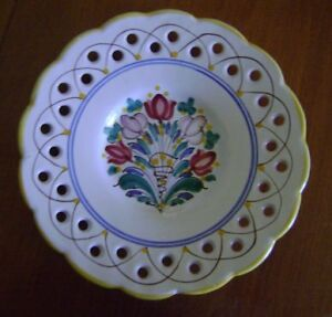 Ceramic Plates & 40th Anniversary Pin Dishes