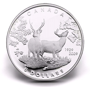 "2009 ""CANADA IN JAPAN"" Sterling SILVER COIN - MINT CONDITION!"