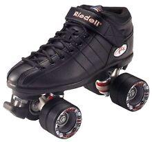Riedell R3 Roller Derby Skates - Ladies Size 8 Aus - Black