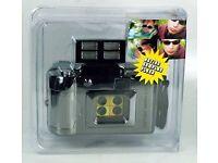 Action sampler film camera with flash (lomo/ lomography/ Polaroid)