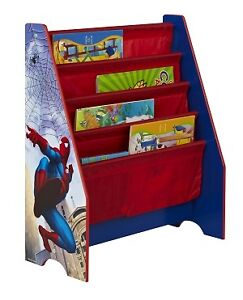 about spider man spiderman sling bookcase kids bedroom furniture new