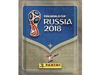 Panini Russia 2018 sticker swaps