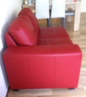 Red 4 seater modular - excellent used condition!!