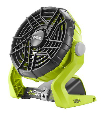 hybrid cooling fan cordless battery or ac