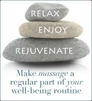 Get STONED with a Hot Stone Massage