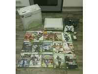 Xbox 360 Boxed And 17 Games