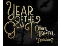 YEAR OF THE GOAT + ORDER OF ISRAFEL + TOMBSTONES