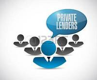 Private Lender Required