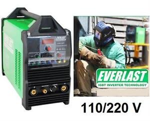 NEW EVERLAST POWERTIG WELDER 200DX 200AMP 110/220 Dual Voltage Pulse AC DC Welder POWER TOOL