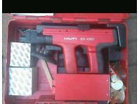 Hilti 450 nail gun with case