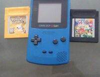 Turquoise Gameboy Color (also, two RARE games!) Watch|Share |Pri