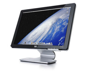 "HP w2007  monitor,  LCD, 20"", with build in speakers"