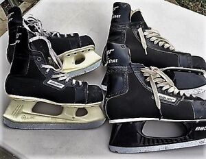 Boys Hockey Skates( 2 pairs)