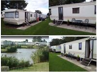 2 bedroom static caravan for hire on Towervans caravan site Mablethorpe.