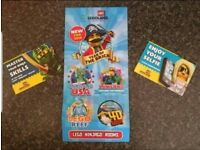 x2 LEGOLAND WINDSOR TICKETS 18th Oct