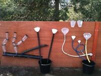 Old pipes/guttering/hose/tubes for a nursery project