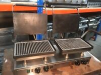 Velox Double High Speed Contact Paninni Grill Model: CG2-C