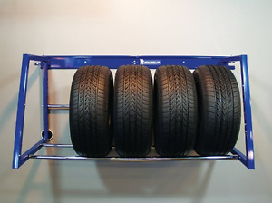 Storing your winter tires? MICHELIN Adjustable Tire Rack
