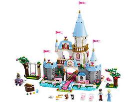 Lego Disney Princess Cinderella's Romantic Castle Set 41055 - used