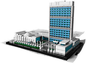 Lego United Nations Headquarters Architecture Series 21018-1