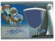 2011 Topps Platinum Patch Auto