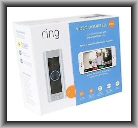 Ring video doorbell pro with transformer (brand new sealed)
