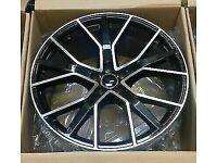 "*Top Quality* x4 19"" RS6-D Style Alloy Wheels BMF Audi A3 A4 TT VW Golf"