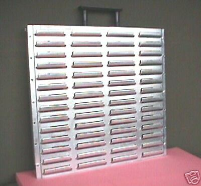 Esd-safe Pick Rack Louvered Hanging System With Handle-- For Plastic Parts Bins