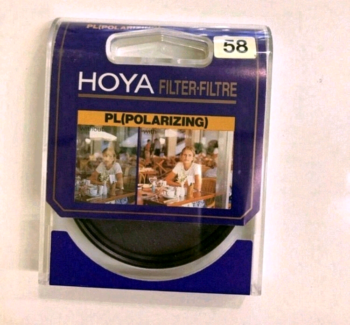 Hoya Filter PL 58mm