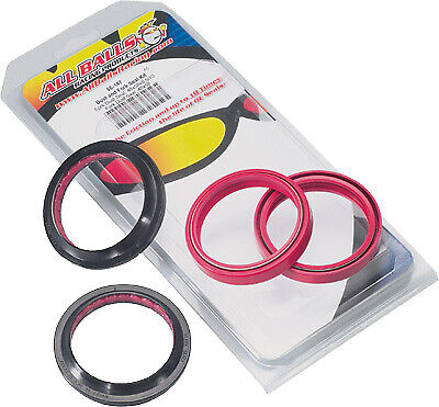 NEW ALL BALLS MOTORCYCLE Fork and Dust Seal Kit 56-104