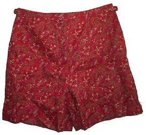 RALPH LAUREN Linen Shorts - 14W - NEW