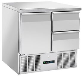 Get It Now, Pay Over 4 Months - FOODSVILLE 1 DOOR 2 DRAWER BENCH FRIDGE, With Warranty