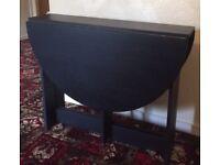 Black Gateleg Table