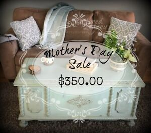 HALF PRICE FOR MOTHERS DAY! Restored Antique Cedar Chest