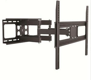 """Full Motion Dual Arm Articulating TV Wall Mount for 37"""" to 70"""" T"""