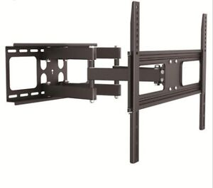 """New Full Motion Dual Arm Swivel TV Wall Mount for 37"""" to 70"""" TV"""