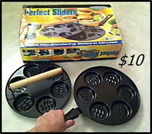Slider Frying Pan with Press