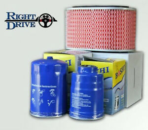 Mitsubishi V26 Pajero 2.8L Filter Pack Air Fuel and Oil filters