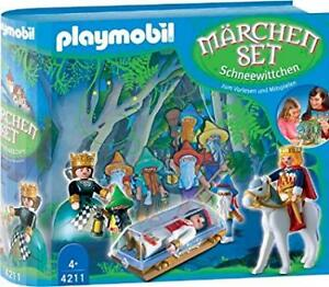Playmobil blanche neige, snow white, 4211, collection très rare