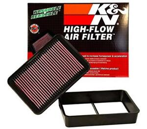 K & N Reusable High Flow Air Filter – Mitsubishi