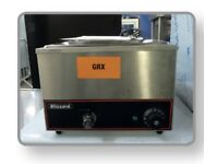 BLIZZARD BBM1 3 POT COUNTER TOP BAIN MARIE WET WELL B GRADE £165.00